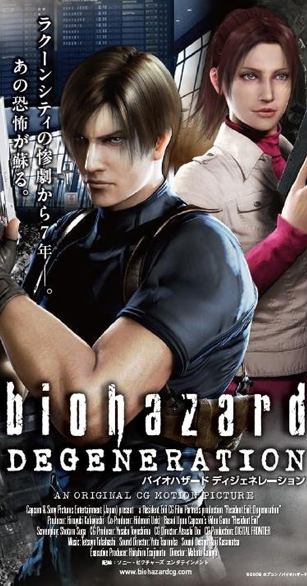 Resident Evil Degeneration 2008 Imdb