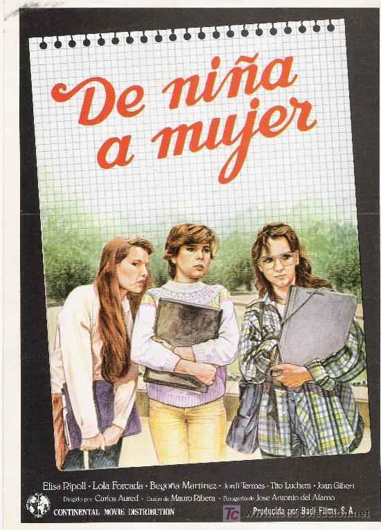 De niña a mujer ((1982))