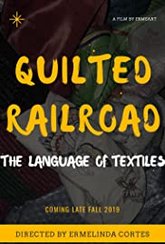 Quilted Railroad, The Language of Textiles Poster