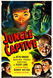 The Jungle Captive Poster