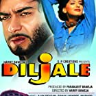 Sonali Bendre, Ajay Devgn, Madhoo, and Amrish Puri in Diljale (1996)