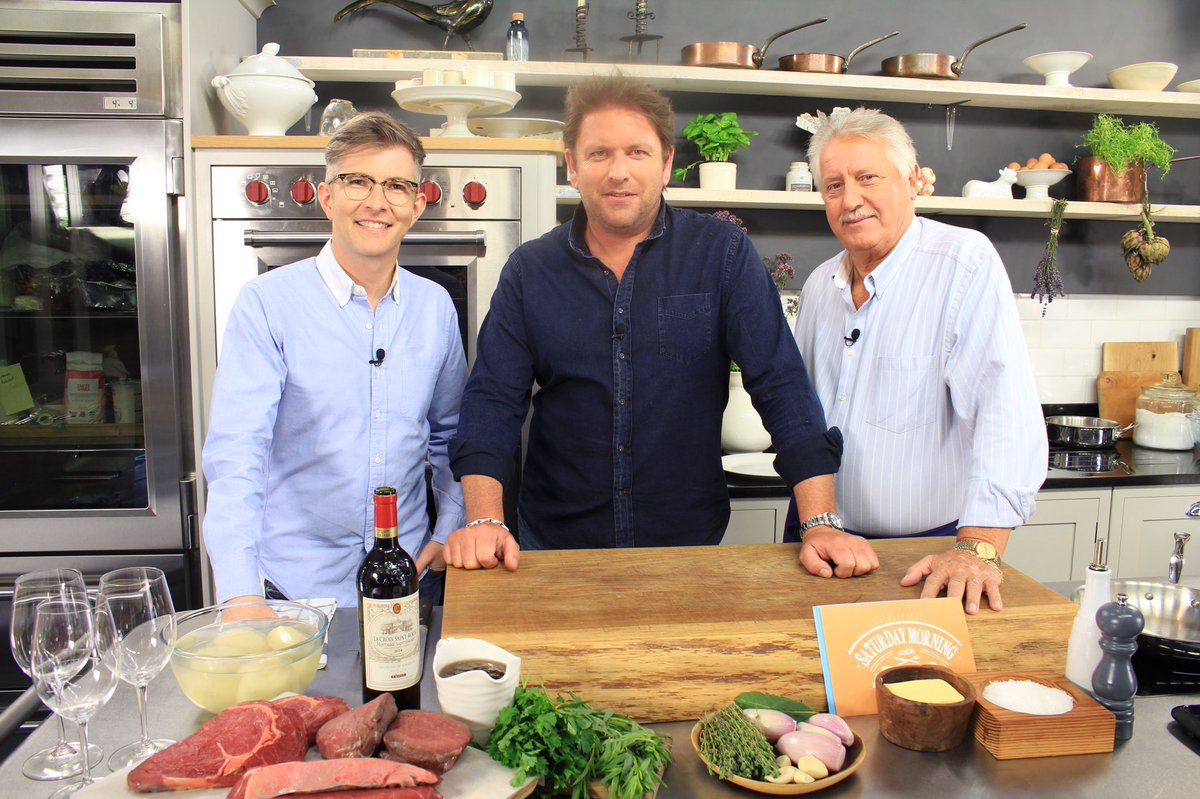 James Martin, Brian Turner, and Gareth Malone in Saturday Morning with James Martin (2017)