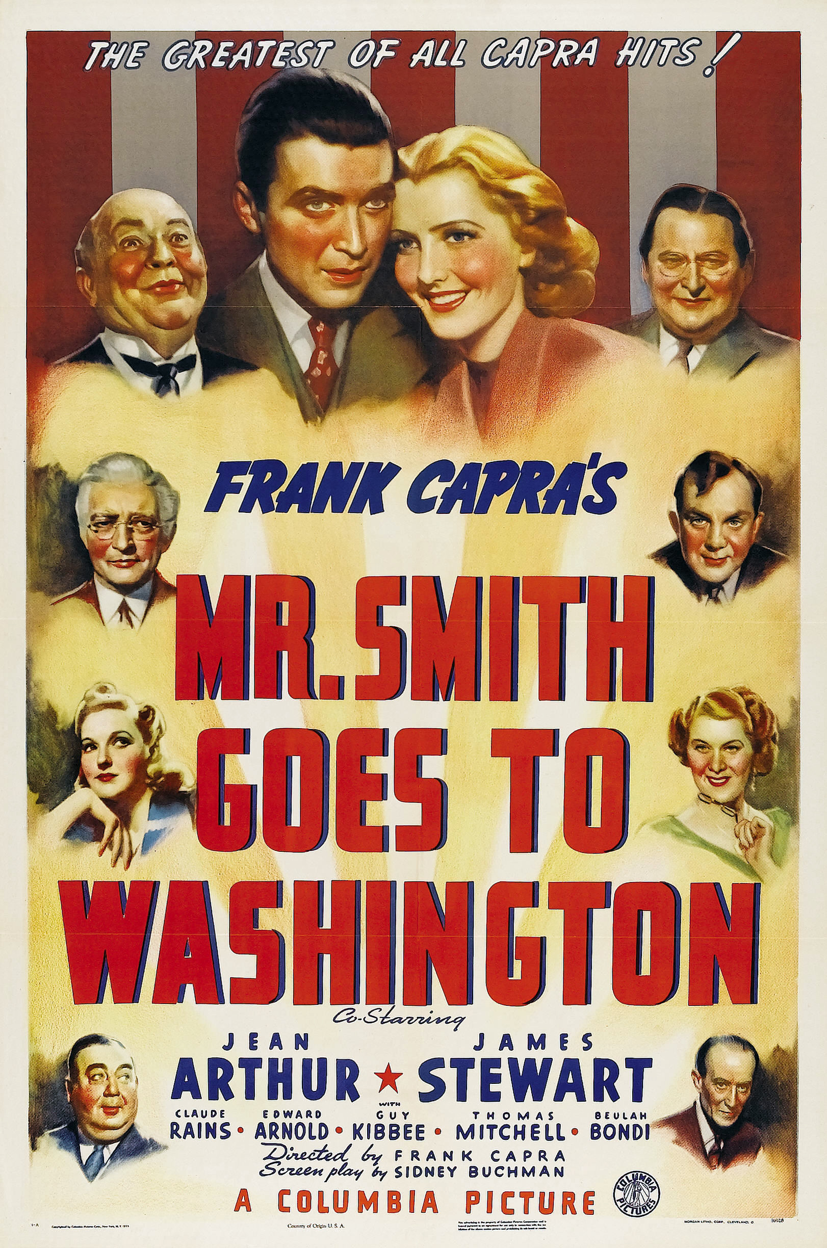 PONAS SMITAS VYKSTA Į VAŠINGTONĄ (1939) / MR. SMITH GOES TO WASHINGTON