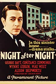 Night After Night (1932) Poster - Movie Forum, Cast, Reviews