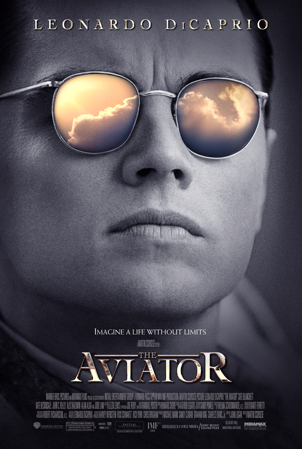 Leonardo DiCaprio in The Aviator 2004