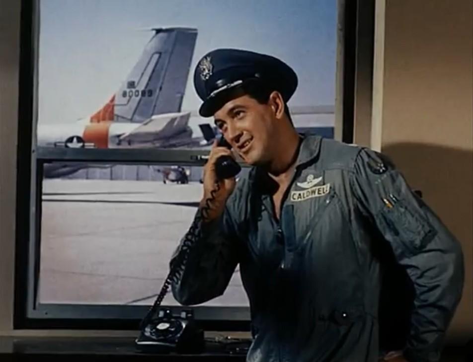 Rock Hudson in A Gathering of Eagles (1963)