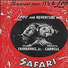Douglas Fairbanks Jr. and Madeleine Carroll in Safari (1940)