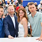 Anders Danielsen Lie, Joachim Trier, Renate Reinsve, and Herbert Nordrum at an event for Verdens verste menneske (2021)