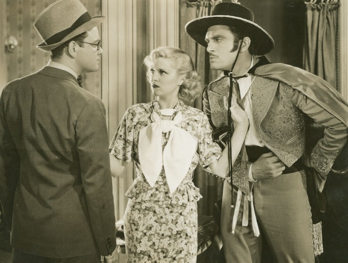 Lew Ayres, Walter Woolf King, and Claire Trevor in Spring Tonic (1935)