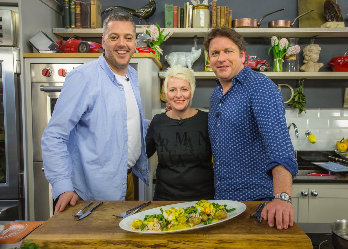 Iain Lee, James Martin, and Lisa Allen in Saturday Morning with James Martin (2017)