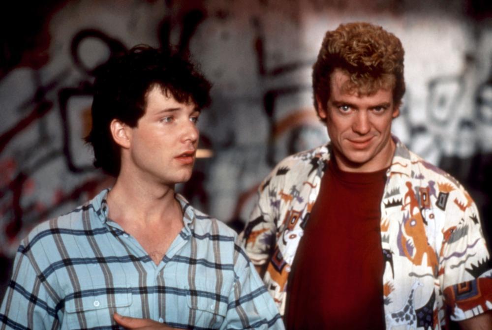 Christopher McDonald and George Newbern in Paramedics (1988)