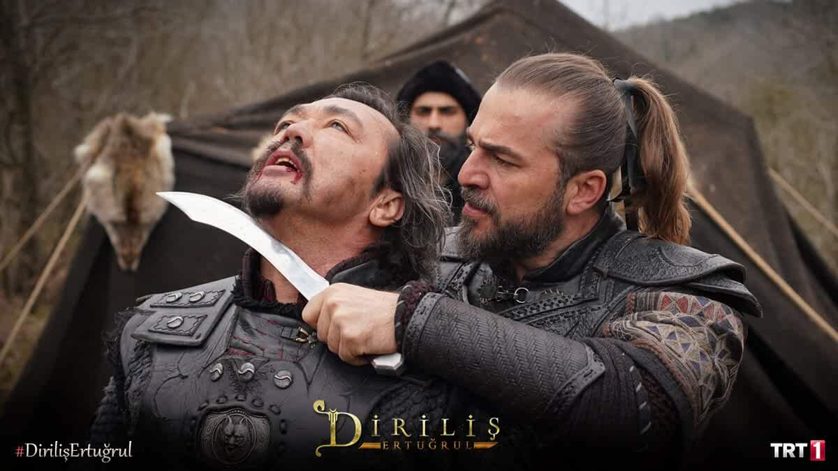 Engin Altan Düzyatan and Engin Benli in Dirilis: Ertugrul (2014)