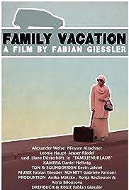 Familienurlaub Poster