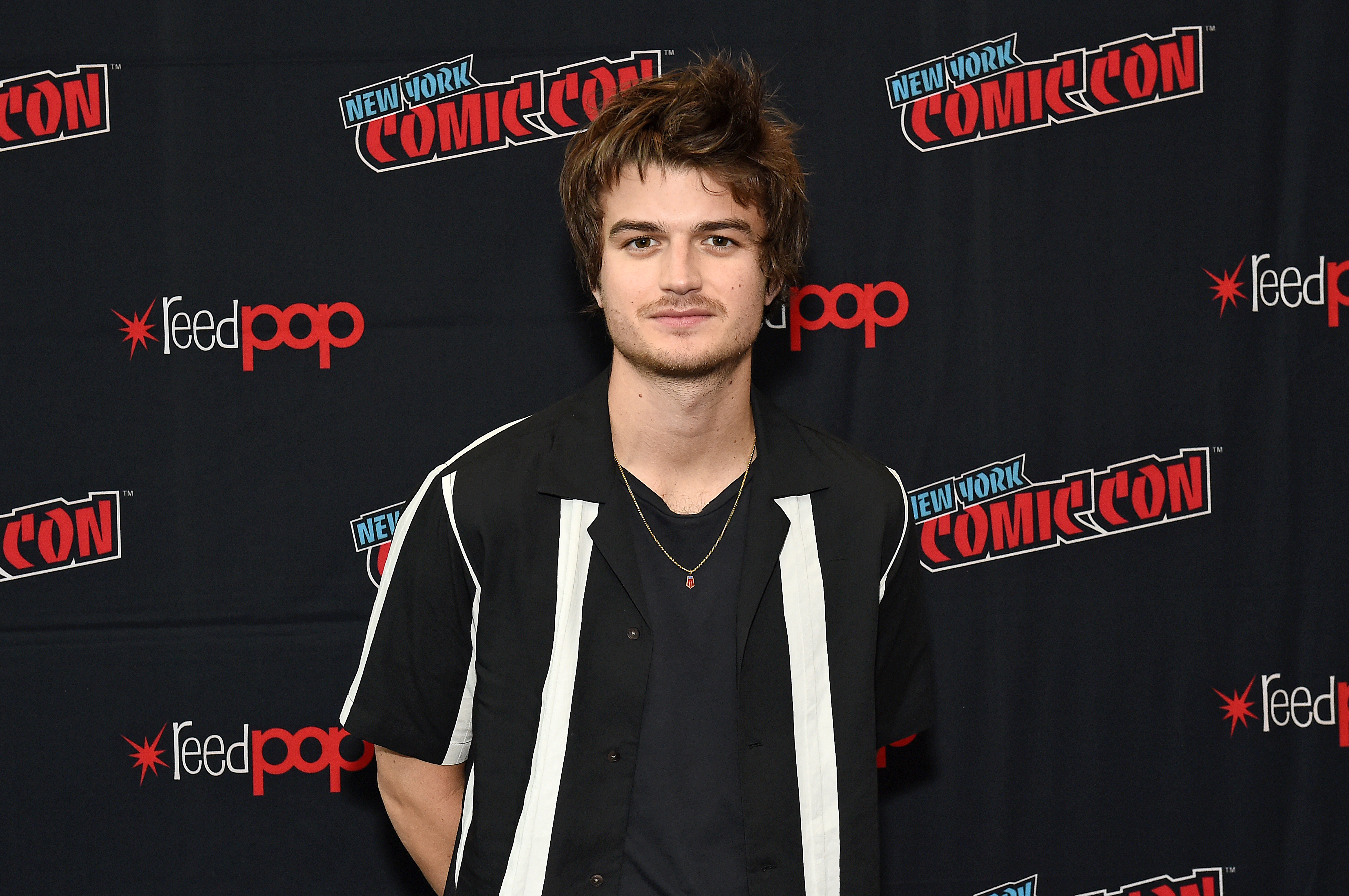 Joe Keery at an event for Free Guy (2021)