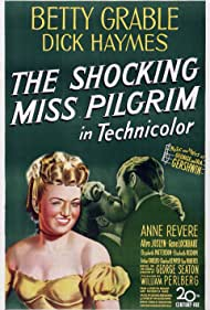 Betty Grable and Dick Haymes in The Shocking Miss Pilgrim (1947)