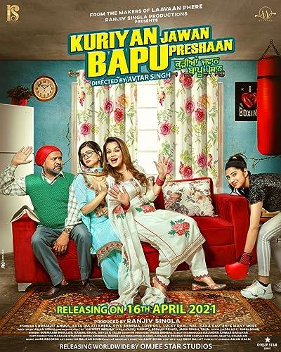 Kuriyan Jawan Bapu Preshaan Filmyzilla 2021 Punjabi 480p 720p 1080p Full Movie Download