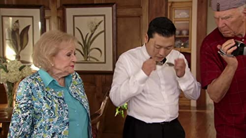 Betty White's Off Their Rockers: The Gang Meets Psy