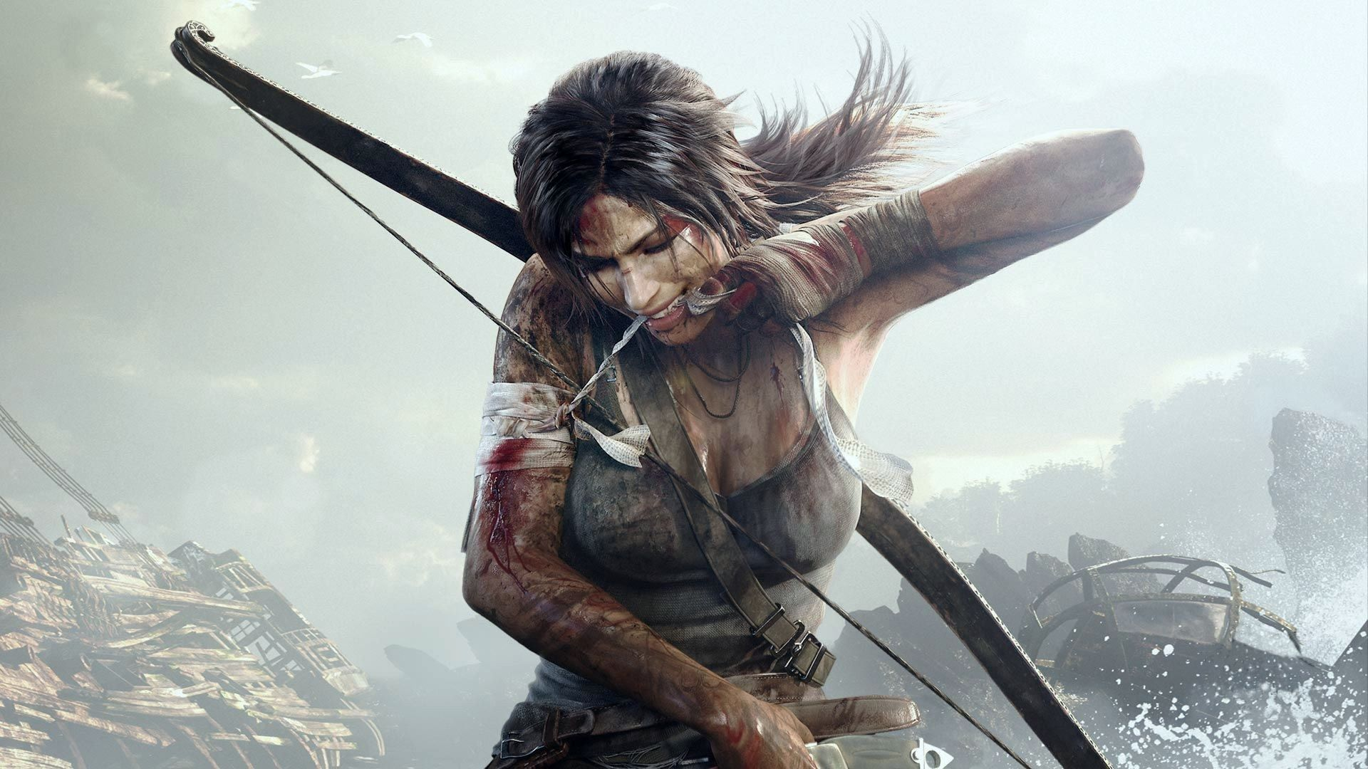 Camilla Luddington in Shadow of the Tomb Raider (2018)