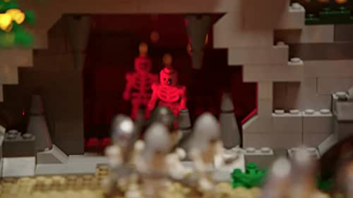 Lego Masters: Aaron & Christian Present Their Romance Thriller Inspired Build