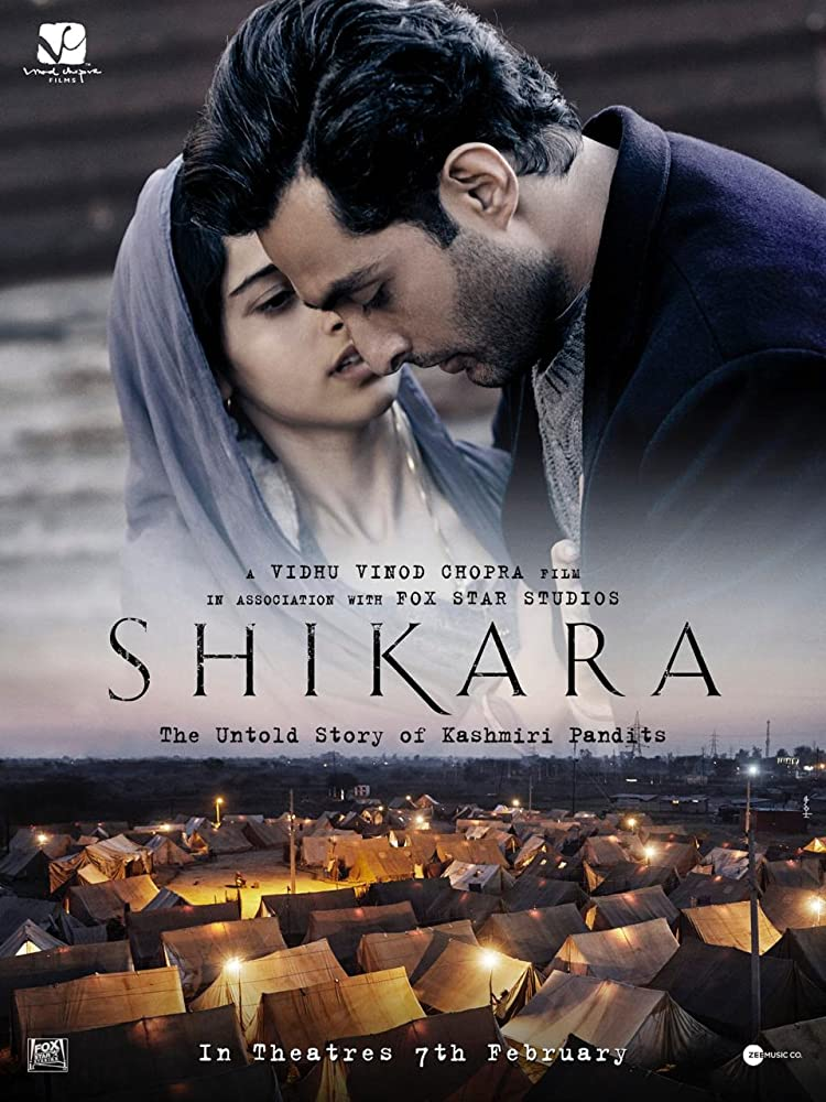 Shikara 2020 Hindi 720p Pre-DVDRip 1.2GB Free Download