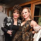 Joan Collins and Allene Quincy - THE TIME OF THEIR LIVES premiere... London, UK May 8, 2017