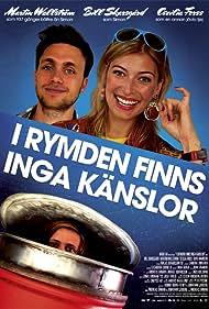 Bill Skarsgård, Martin Wallström, and Cecilia Forss in I rymden finns inga känslor (2010)