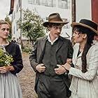 Miriam Stein, Maxim Mehmet, and Anna Schinz in Gotthard (2016)