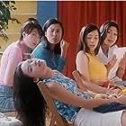Angie Cheung, Vivian Hsu, Sai Lan, Shu Qi, and Joyce Chan in Chao ji wu di zhui nu zai (1997)