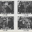 George 'Gabby' Hayes, Evalyn Knapp, Ken Maynard, and Kenneth Thomson in In Old Santa Fe (1934)