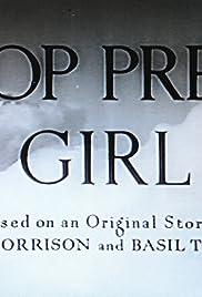 Stop Press Girl Poster