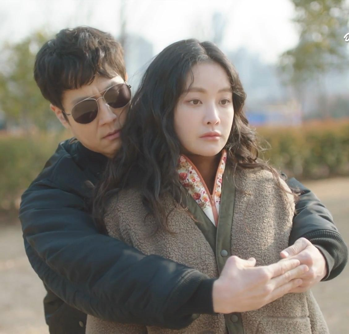 Woo Jung and Yeon-Seo Oh in Mad for Each Other (2021)