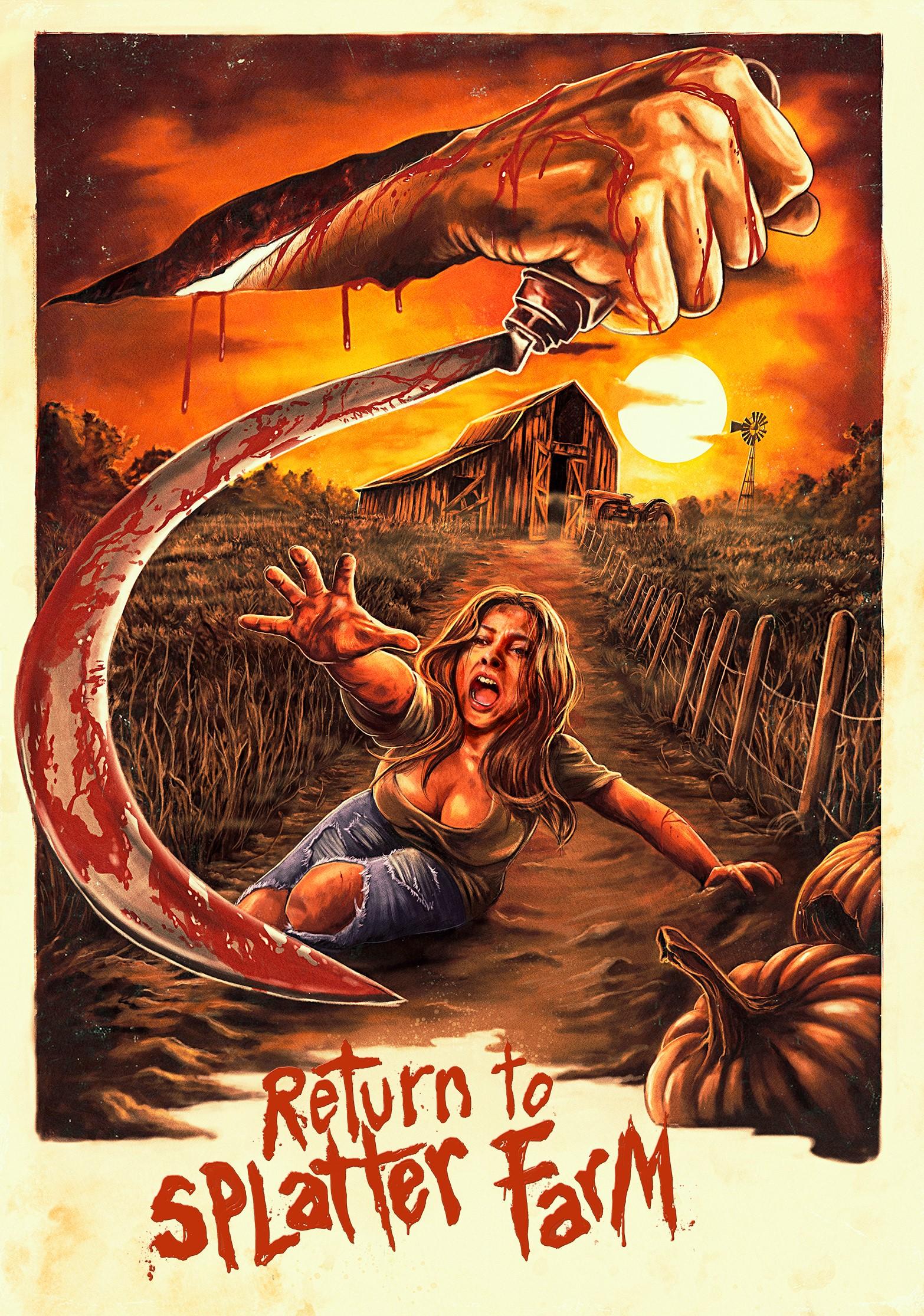 Return to Splatter Farm (2020) WebRip 720p Dual Audio [Hindi (Voice Over) Dubbed + English] [Full Movie]