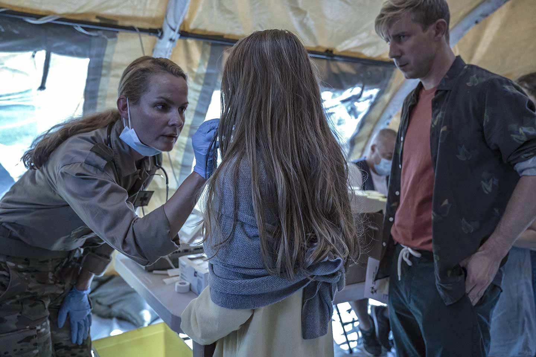 Biljana Stojkoska, Anders Juul, and Nicoline Melbye Andreassen in The Truth Hurts (2019)