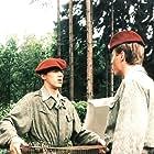Jirí Langmajer and Karel Roden in Copak je to za vojáka... (1988)