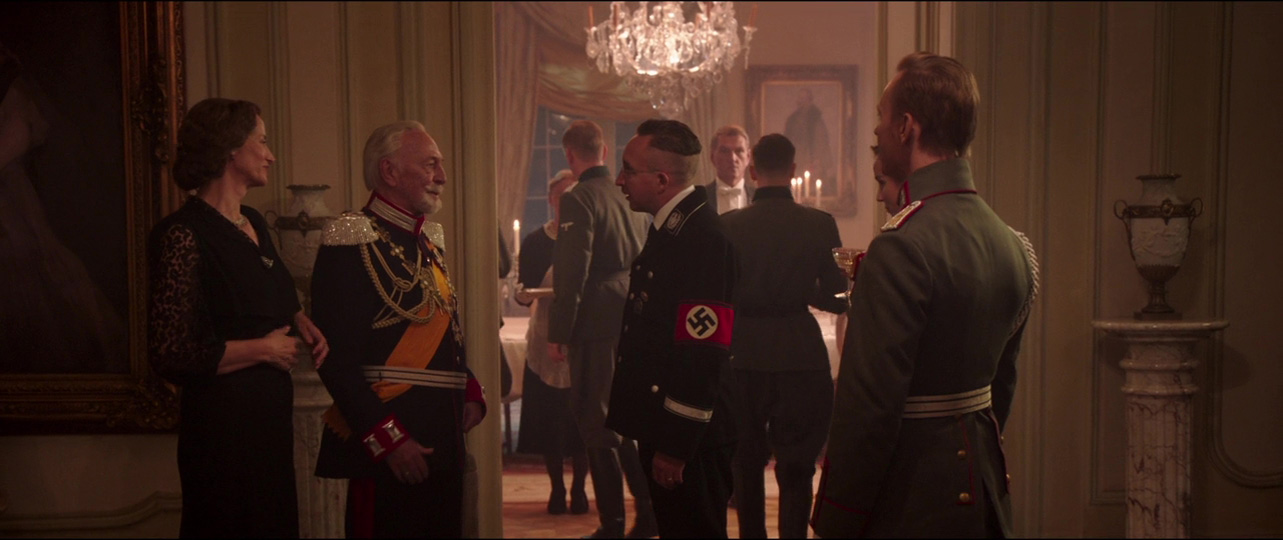 Christopher Plummer, Janet McTeer, and Eddie Marsan in The Exception (2016)