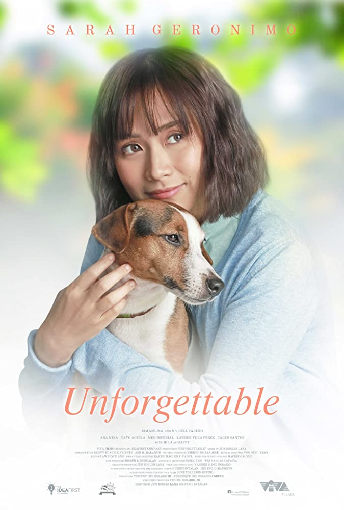Milo and Sarah Geronimo in Unforgettable (2019)