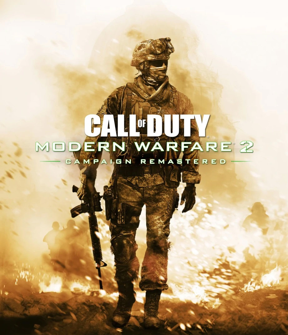Call Of Duty Modern Warfare 2 Campaign Remastered Video Game