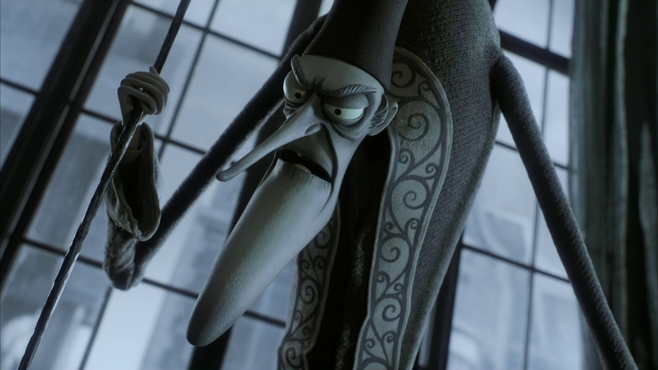 Christopher Lee in Corpse Bride (2005)