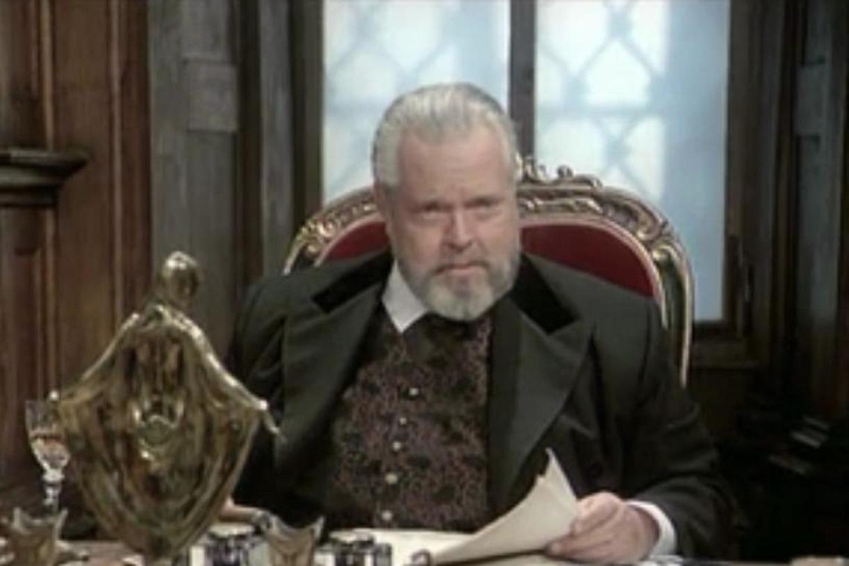 Orson Welles in Tajna Nikole Tesle (1980)