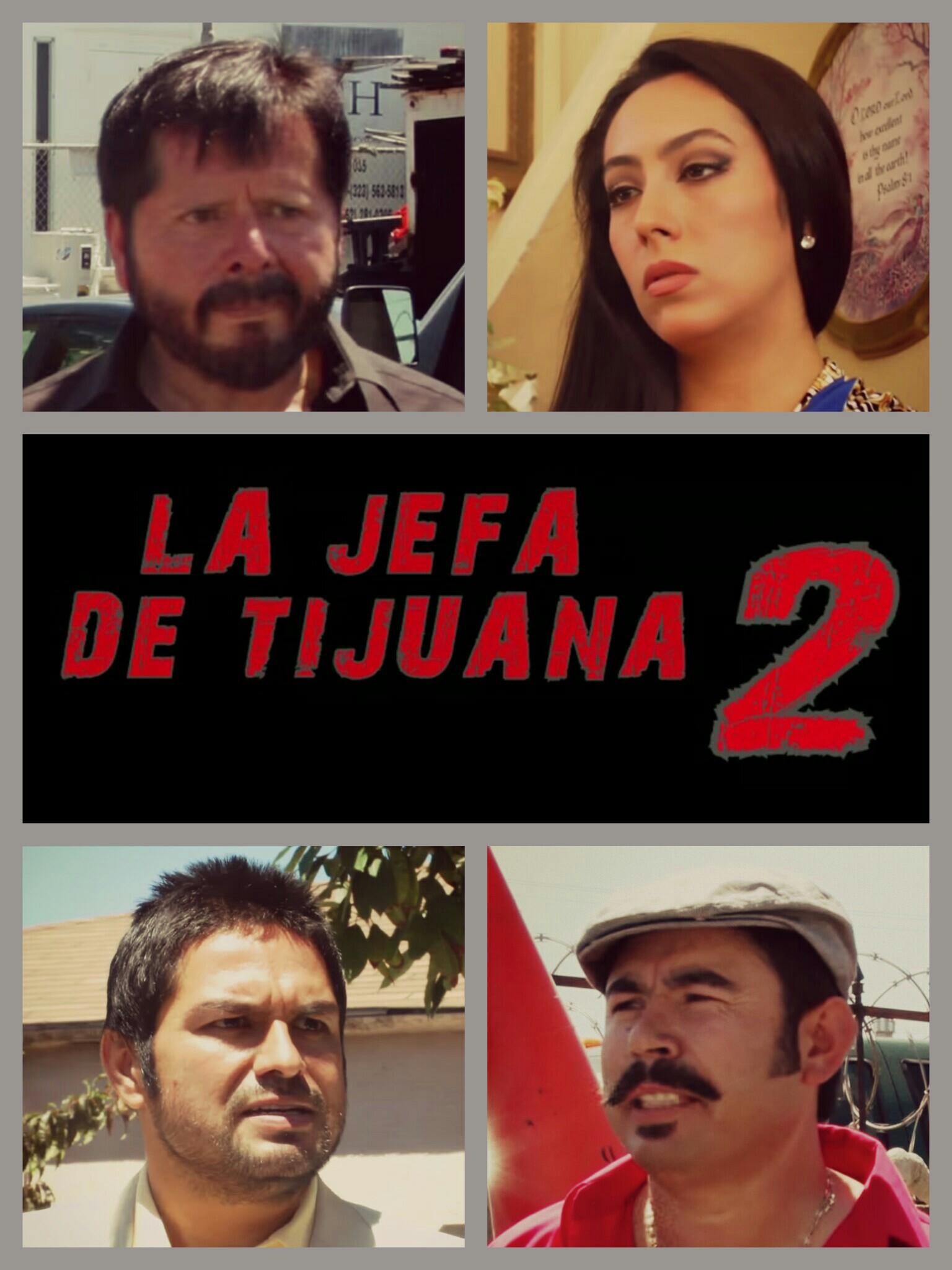 Bernabé Melendrez, Natali Velasco, John Solis, and Chuy Valencia El Cotija in La jefa de Tijuana 2 (2013)