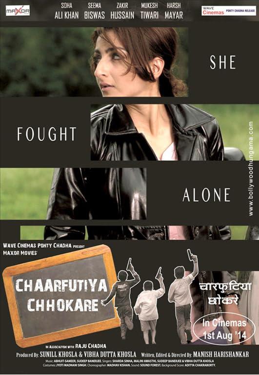 Free Download Chaarfutiya Chhokare (2014) Bollywood Movie 720p HDRip  600MB Download On Mp4moviez Fliz Movies