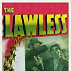 Macdonald Carey, Lalo Rios, and Gail Russell in The Lawless (1950)
