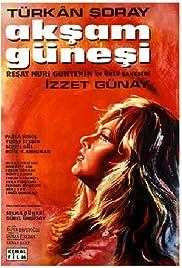 Aksam günesi Poster