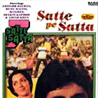 Amitabh Bachchan and Hema Malini in Satte Pe Satta (1982)