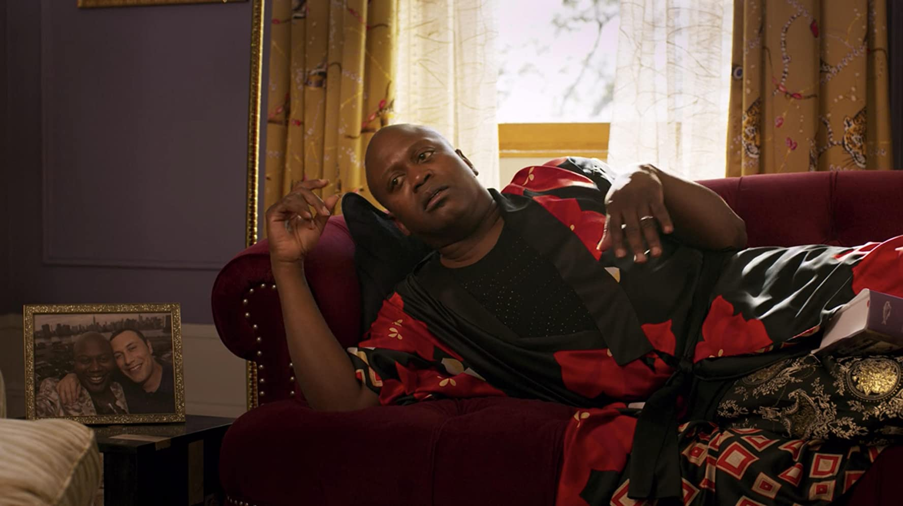 Mike Carlsen and Tituss Burgess in Unbreakable Kimmy Schmidt: Kimmy vs the Reverend (2020)