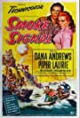 Dana Andrews and Piper Laurie in Smoke Signal (1955)