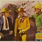 Ray Corrigan, Kenneth Harlan, and Robert Livingston in Gunsmoke Ranch (1937)