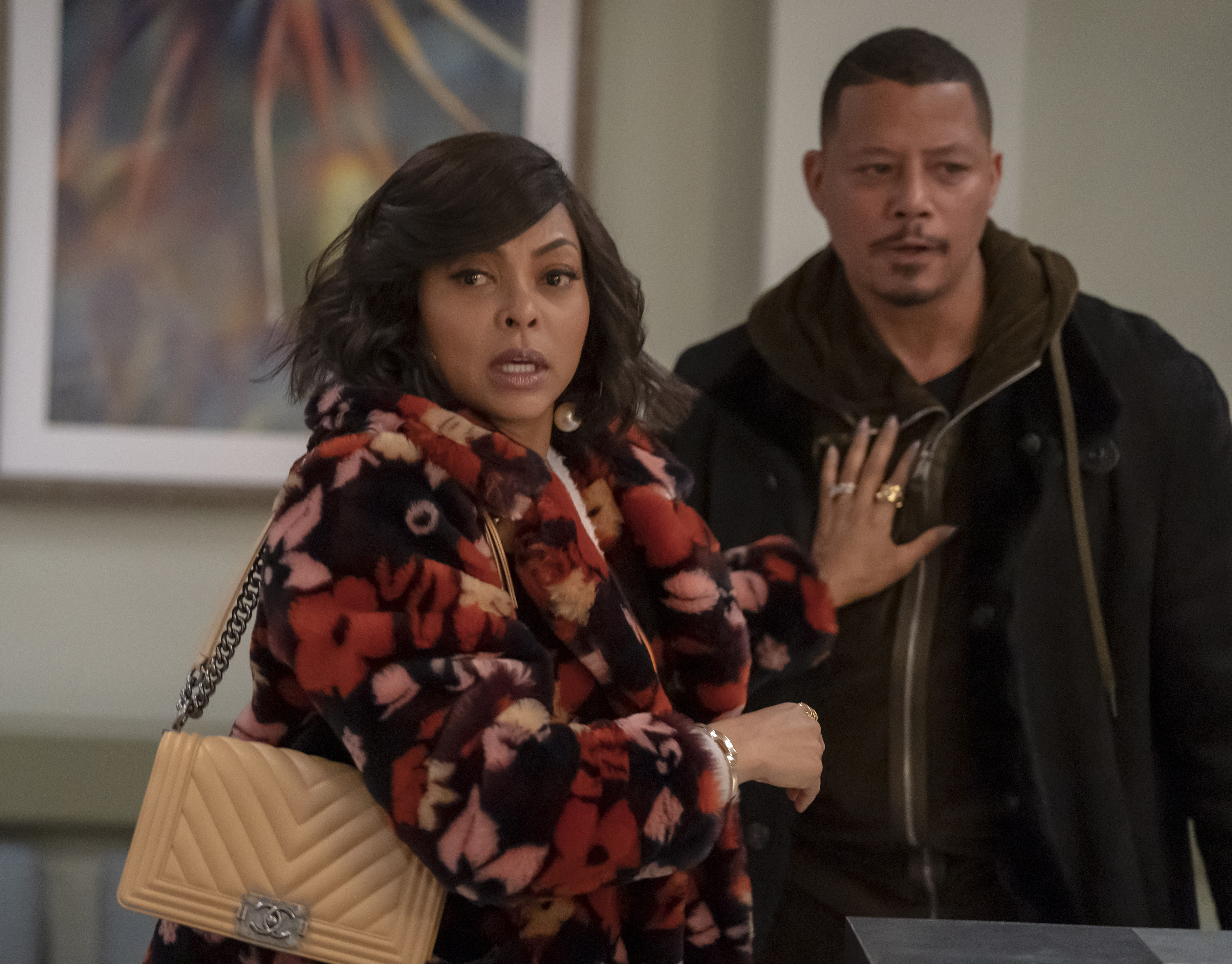Terrence Howard and Taraji P. Henson in The Roughest Day (2019)