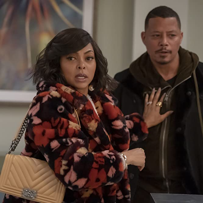 Terrence Howard and Taraji P. Henson in Empire: The Roughest Day (2019)