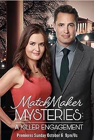 Danica McKellar and Victor Webster in A Killer Engagement (2019)